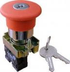 XB2-BS142 Кнопка безопасности. Возврат ключом
