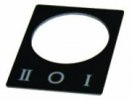 Табличка маркировочная I 0 II