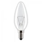 Лампа накаливания ДС 60Вт Е14, свечка, инд.упаковка